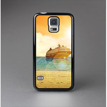 The Vintage Cruise ship at Dusk Skin-Sert Case for the Samsung Galaxy S5