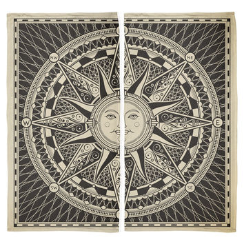 Sun Compass All Over Beach Towel Set