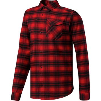 adidas Originals Men's Skateboarding Stretch Flannel Shirt