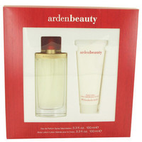 Arden Beauty by Elizabeth Arden Gift Set -- 3.3 oz Eau De Parfum Spray + 3.3 oz Body Lotion (Women)