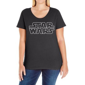 episode iv   a new hope Ladies Curvy T-Shirt