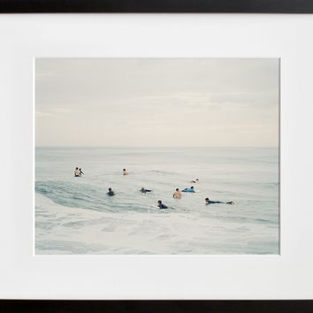 Waiting (Framed + Ready To Ship)