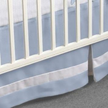 Crib Skirt | Jake Luxury Baby Bedding Set