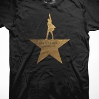 Hamilton Gold Star T-Shirt | Apparel | broadwaymerchandiseshop.com