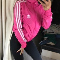 ?? Adidas Originals Pink Track Jacket