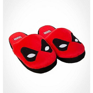 Deadpool Adult Unisex Slippers - Spencer's