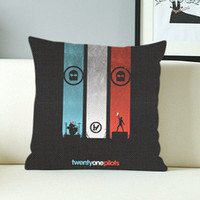 Twenty One Pilots Band - Design Pillow Case with Black/White Color.