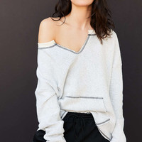 Project Social T X Out From Under Beach Terry Pullover Sweatshirt - Urban Outfitters