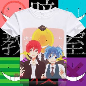 Assassination Classroom Short Sleeve Anime T-Shirt V13