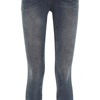 J Brand | Anja Photo Ready cropped mid-rise jeans | NET-A-PORTER.COM