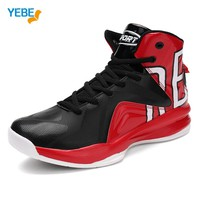 YEBE New Men Jordan Basketball Shoes 2017 Male Ankle Boots Anti-slip Outdoor Athletic Tn Max Sport Sneakers Requin Basket Homme