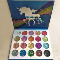 20colors rainbow unicorn eye shadow