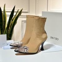 Celine Woman fashion short boots