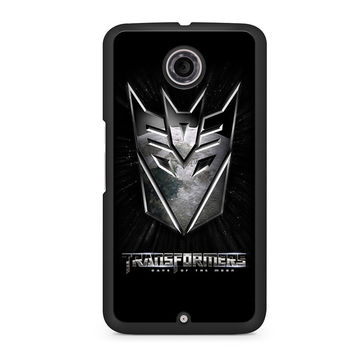 Transformers 3 Decepticons Dark of The Moon Nexus 6 case