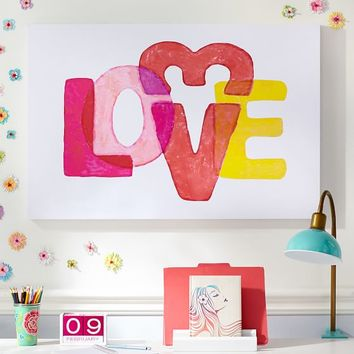 Love Canvas Wall Art