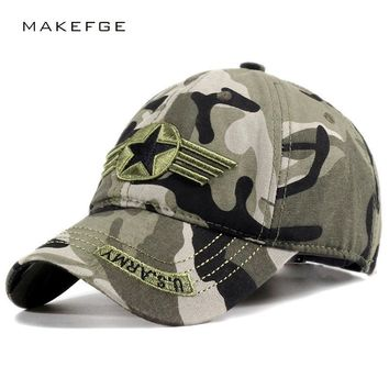 Trendy Winter Jacket Brands Men army Seal Cap Snapback eagle Tactica caps camouflage Hunting Fishing for Dad uncle Hat Bone Camo Outdoor Caps AT_92_12