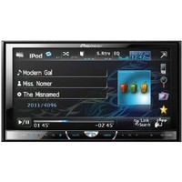 """Pioneer AVH-P4400BH 2-DIN Multimedia DVD Receiver with 7"""" Widescreen Touch Panel Display, Built-In Bluetooth, and HD Radio™ Tuner"""