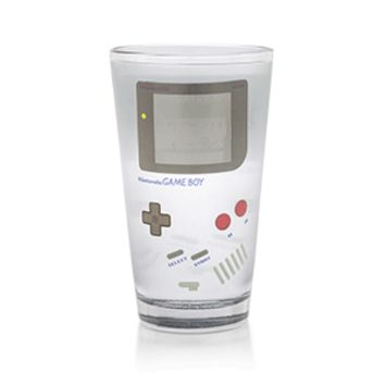 Nintendo Game Boy Color-Changing Pint Glass