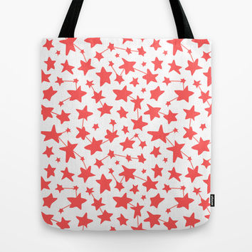 Connect the Stars Tote Bag by Ariel Lark