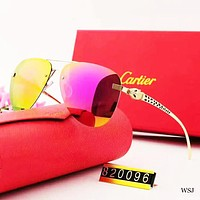 Cartier New fashion polarized more color couple glasses eyeglasses