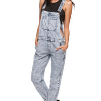 Bullhead Denim Co Boyfriend Poison Overalls at PacSun.com