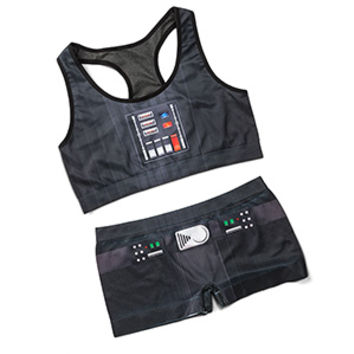 Darth Vader Seamless Sports Bra - Exclusive