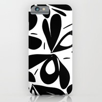 ink flower petals 2 iPhone & iPod Case by Her Art