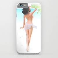 Where the weather's warm and the girls are pretty. iPhone & iPod Case by John Medbury (LAZY J Studios)