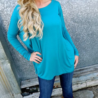 Dark Teal Piko | The Rage