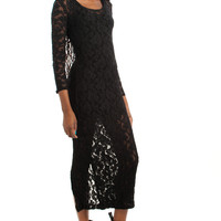 Vintage 90's This Must Be the (P)lace Maxi Dress - XS/S/M