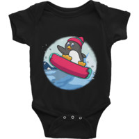 Penguin Baby Boy Onesuit | Funny Zoo Animal Romper | The Jazzy Panda