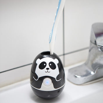 UV Light Toothbrush Sanitizer and Holder