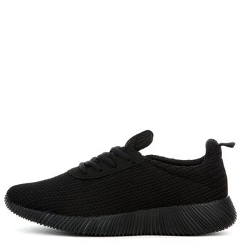 Cape Robbin Nena-10 Women's Black Sneaker
