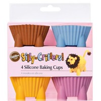 Wilton Silly Critters Baking Cups, Set of 4