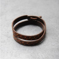 Indian Vintage Leather Bracelet