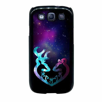 browning deer couple samsung galaxy s3 s4 cases