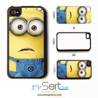 NEW Despicable Me 7 n-Sert iPhone 4, 4s, 5 Case with Changeable Inserts