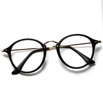 2017 Women Men Vintage Round Eyewear Frames Retro Optical Glasses Frame  Eyeglasses Goggle Oculos