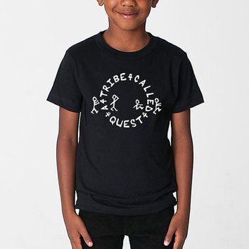 A Tribe Called Quest ATCQ Circle Kids Youth Toddler Infant T-Shirt Hip-Hop Rap Native Tongues Can I Kick It Low End Theory Bonita