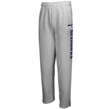 Mens Seattle Seahawks Majestic Gray Critical Victory VIII Pants