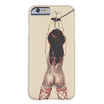 Hit that booty, bdsm bondage erotic nude girl barely there iPhone 6 case