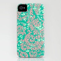 Vintage Wallpaper No.6 iPhone Case by Romi Vega | Society6