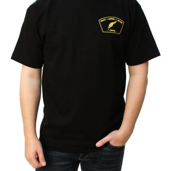 Anenberg Men's C.S.I. Patch Graphic T-Shirt