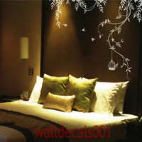 Vinyl wall sticker wall decal artlovely Vines by walldecals001