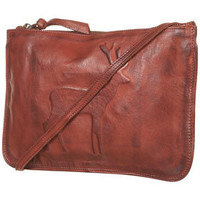 Embossed Leather Bag - Scandi Girl  - Collections