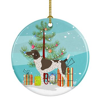 German Shorthaired Pointer Christmas Ceramic Ornament BB8445CO1