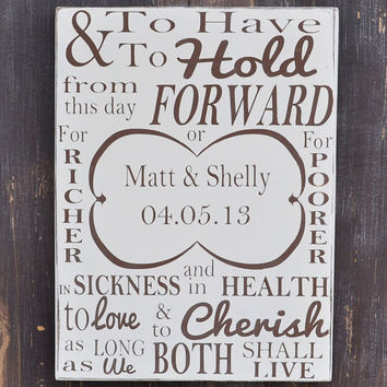 Custom Wood Wedding Sign,Personalized Engagement Gift,Wedding Gift, Engagement Present, Bridal Shower Gift, Anniversary Gift