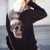 ERICA I'LL SLEEP WHEN I'M DEAD SWEATER
