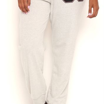 Plus Size Jogger Pants with 88 Screen