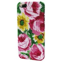 Oil Blooming Rose Flowers Hard Back Shell Skins Case Cover for Apple iPhone 5 5G